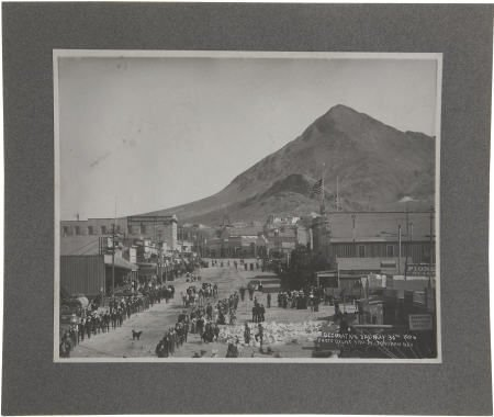 43459: Panel Card Image of Tonopah, Nevada, 1906. This