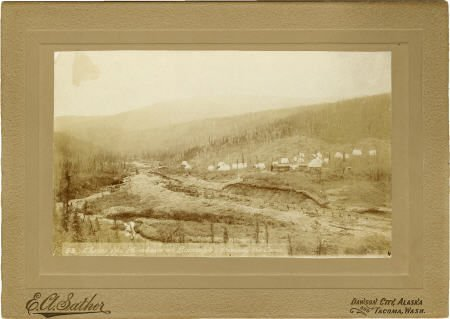 43469: Photograph: Gold Mining Camp Near Bonanza, Alask