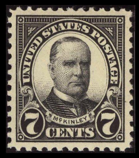 31848: #559, 1923, 7c Black, SUP 98 PSE. (Original Gum