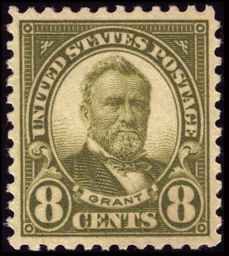 31851: #560, 1923, 8c Olive Green, XF-S 95 PSE. (Origin