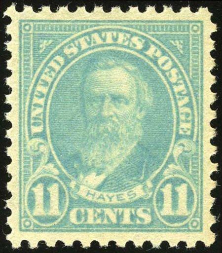 31856: #563, 1922, 11c Greenish Blue, SUP 98 PSE. (Orig