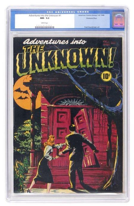 91008: Adventures Into The Unknown #1 Diamond Run pedig