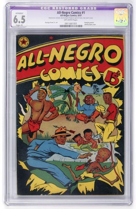 91013: All-Negro Comics #1 (All-Negro Comics, 1947) CGC