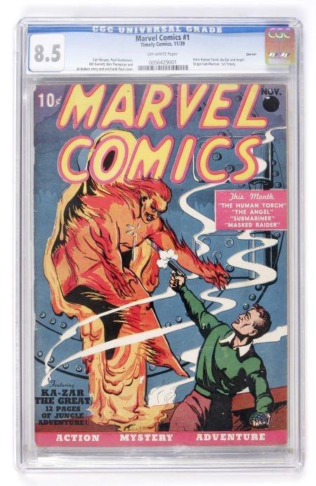 91156: Marvel Comics #1 Denver pedigree (Timely, 1939)