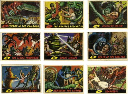 91580: Trading Card Group (1955-94). Complete sets of D
