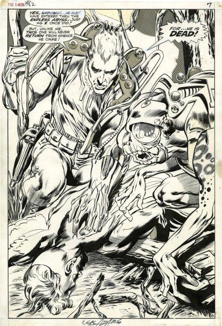 92001: Neal Adams and Tom Palmer X-Men #62 Magneto Spla