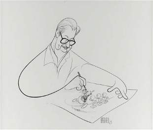 92104: Al Hirschfeld Carl Barks Caricature Illustration