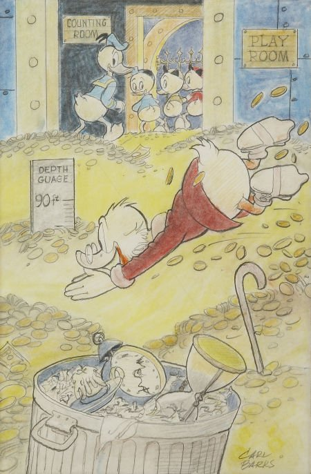 92009: Carl Barks Uncle Scrooge McDuck: His Life and Ti