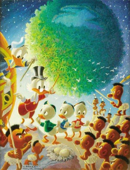 92012: Carl Barks An Astronomical Predicament Prelimina