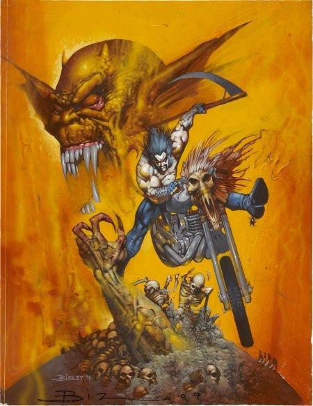 92013: Simon Bisley The Demon #12 Cover Original Art (D