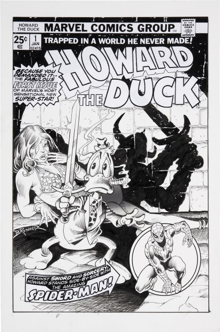 92023: Frank Brunner Howard the Duck #1 Cover Re-Creati
