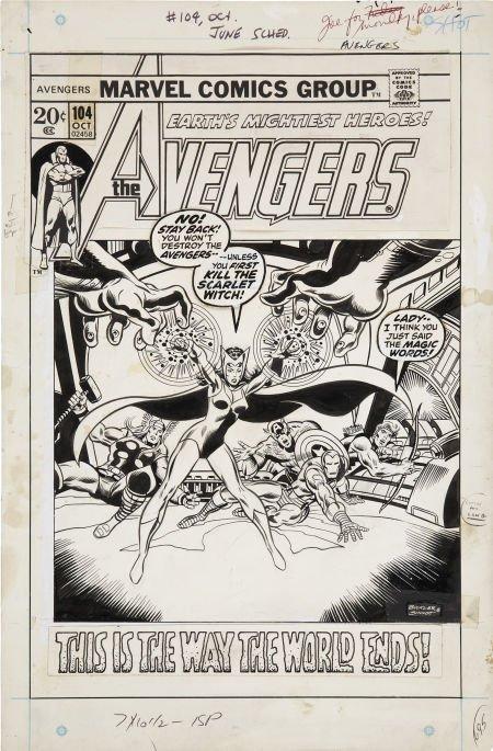 92024: Rich Buckler and Joe Sinnott The Avengers #104 C