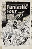 92041: John Buscema and Frank Giacoia Fantastic Four #1