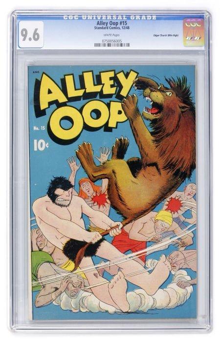93006: Alley Oop #15 Mile High pedigree (Standard, 1948