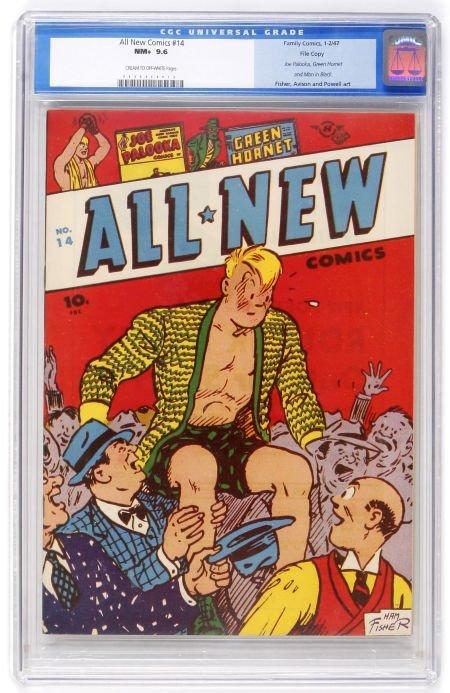 93007: All New Comics #14 File Copy (Family Comics, 194