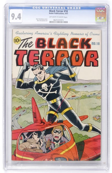 93014: The Black Terror #18 (Nedor Publications, 1947)