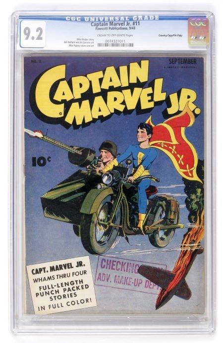 93022: Captain Marvel Jr. #11 Crowley Copy/File Copy (F