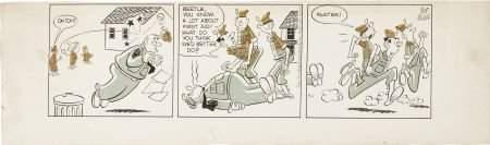 93653 Mort Walker Beetle Bailey Daily Comic Strip Orig