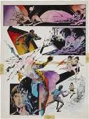 93609: Alex Niño DC Graphic Novel #7 Space Clusters pag