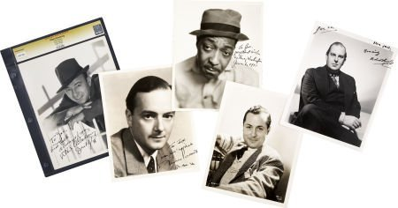 49006: Robert Armstrong and Others Actor-Signed Photos.