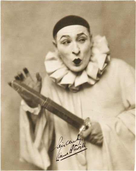 49007: Lionel Atwill Signed Photo. A vintage b&w 7.25""