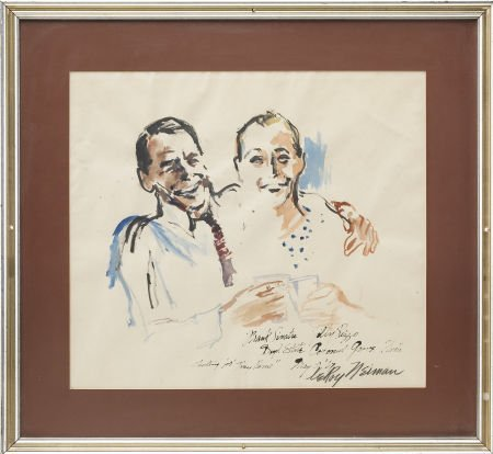 49222: Frank Sinatra and Jilly Rizzo Portrait by LeRoy