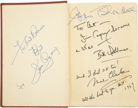 49025: James Cagney and Others Cast-Signed Copy of The