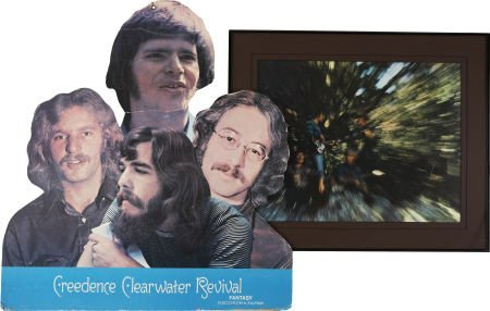 50017: Creedence Clearwater Revival Bayou Country Poste