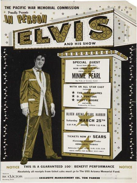 50232: Elvis Presley Pacific War Memorial Commission Co