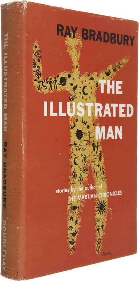 37008: Ray Bradbury. The Illustrated Man. Garden City: