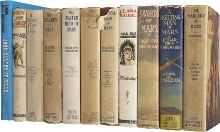 37012: Edgar Rice Burroughs. The Complete Mars Series -
