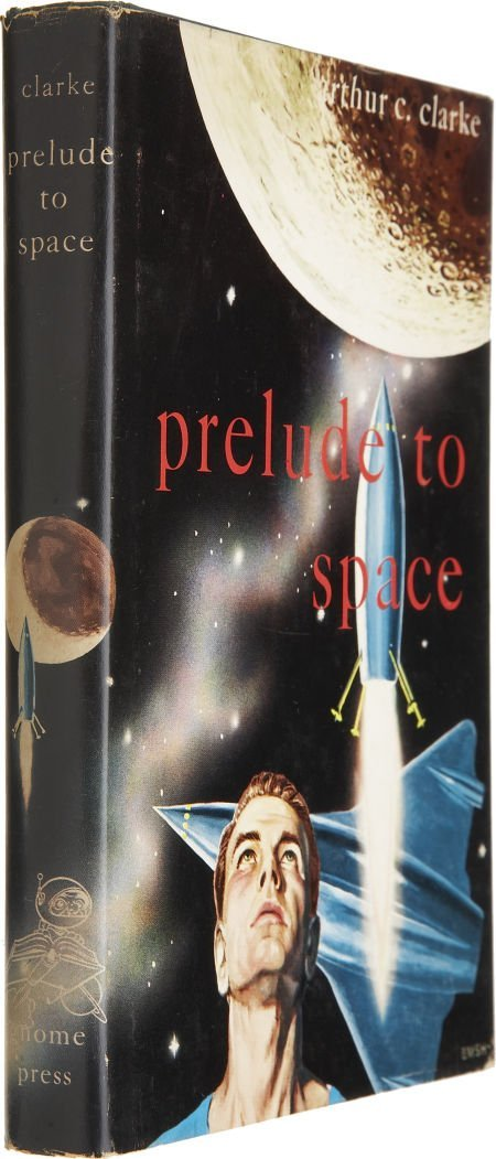 37022: Arthur C. Clarke. Prelude to Space. New York: Gn