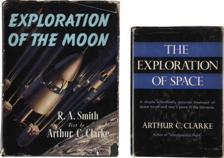 37024: Arthur C. Clarke. Two Signed First Editions, inc