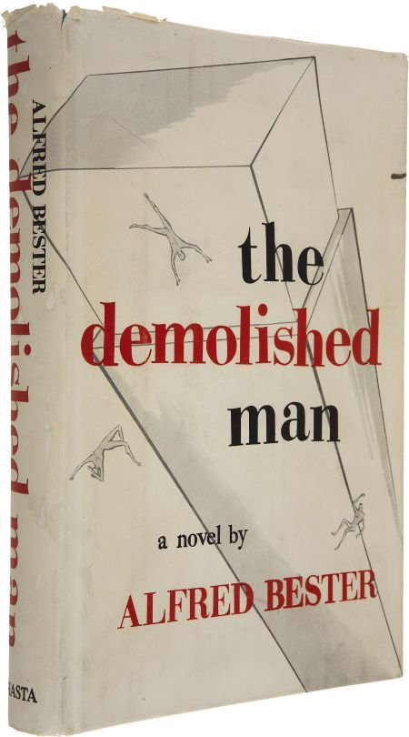 37214: Alfred Bester. The Demolished Man. Chicago: Shas