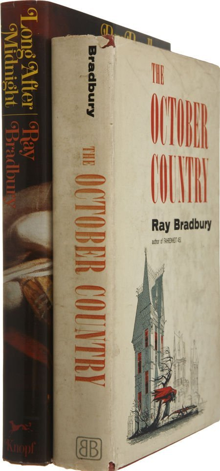 37216: Ray Bradbury. Two First Editions, including: The