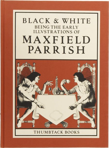 37459: Maxfield Parrish. Black & White: Being the Early