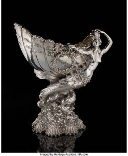 74033: A Tiffany & Co. Silver Yachting Trophy: