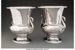 74227: A Pair of Gianmaria Buccellati Two-Handled Silve