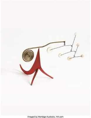 77034: Alexander Calder (1898-1976) Seis Puntos Blancos