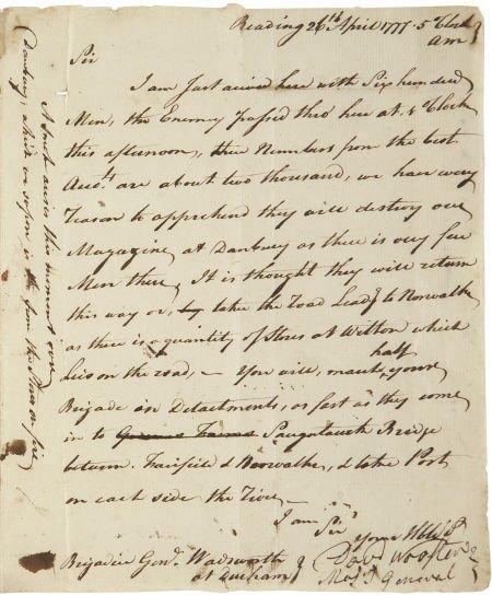 35015: [Revolutionary War: Battle of Ridgefield] Major