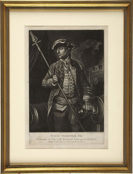 35016: [Revolutionary War] David Wooster, Esq'r. Comman