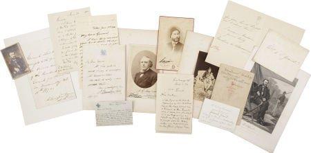 35151: [Ulysses S. Grant] Grant Family Archive, includi