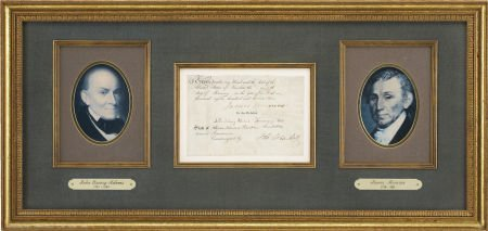 35253: President James Monroe and Secretary of State Jo