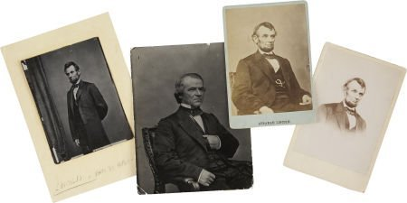 35266: Abraham Lincoln and Andrew Johnson Images, inclu