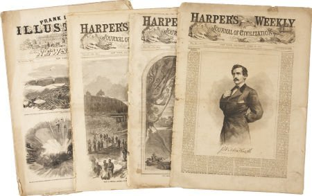 35268: [Abraham Lincoln] Illustrations from Harper's We