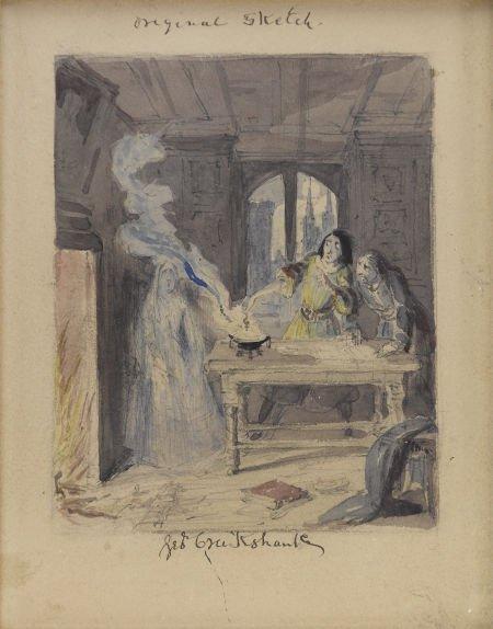 88004: GEORGE CRUIKSHANK (English 1792 - 1878) Ingoldsb