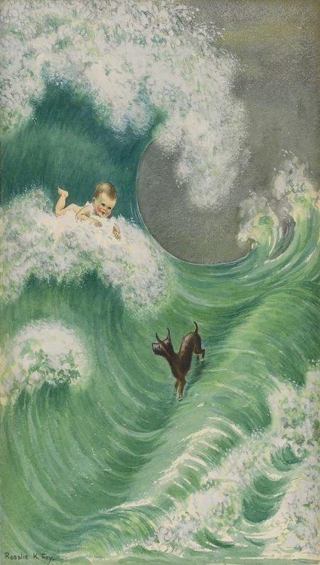 88012: ROSALIE K. FRY (English 20th Century) The Water