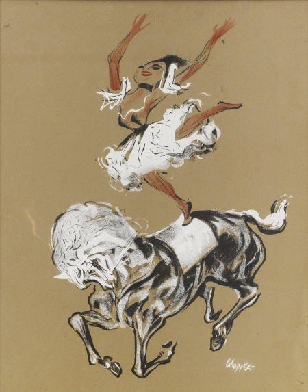 88014: WILLIAM GROPPER (American 1897 - 1977) Circus Ho