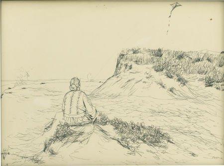 88015: HENRY KOERNER (American 1915 -1991) Kite No.1, 1