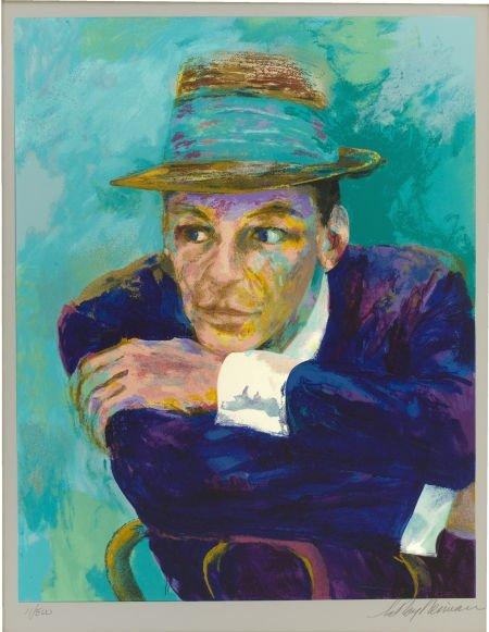 88120: LEROY NEIMAN (American b. 1927) Frank Sinatra --